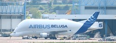 F-GSTF A300-600ST Beluga 5 (kitmasterbloke) Tags: tls toulouse aircraft aviation airliner transport outdoor france