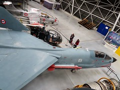 Vought F-8E Crusader (kitmasterbloke) Tags: aeroscopia toulouse museum aviation aircraft heritage preserved displayed indoor france