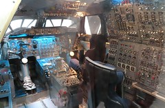 Concorde cockpit simulator (kitmasterbloke) Tags: aeroscopia toulouse museum aviation aircraft heritage preserved displayed indoor france
