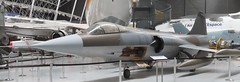 21+91 Lockheed F104G Starfighter low shot (kitmasterbloke) Tags: aeroscopia toulouse museum aviation aircraft heritage preserved displayed indoor france
