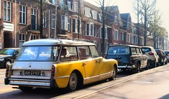 Citroën ID 21 F Break / Volvo Amazon P221 (Skylark92) Tags: nederland netherlands holland noordholland northholland amsterdam zuid south citroën id 21 f break ah2707 1967 volvo amazon p221 dr6064