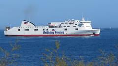 19 04 16 BF Connemara Roscoff (2) (pghcork) Tags: brittanyferries brittany bretagne roscoff connemara ferry ferries carferry 2019