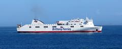 19 04 16 BF Connemara Roscoff (3) (pghcork) Tags: brittanyferries brittany bretagne roscoff connemara ferry ferries carferry 2019