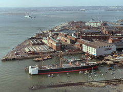 Portsmouth Historic Dockyard aerial view (John D Fielding) Tags: portsmouth hmswarrior dockyard museum harbour hampshire above aerial hires highresolution hirez highdefinition hidef britainfromtheair britainfromabove skyview aerialimage aerialphotography aerialimagesuk aerialview drone aerialengland britain johnfieldingaerialimages johnfieldingaerialimage johnfielding fromtheair fromthesky