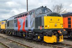 37884, Barrow Hill (JH Stokes) Tags: diesellocomotives 37884 class37 europhoenix barrowhill trains trainspotting tracks transport railways locomotives photography railroads