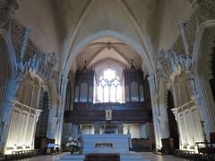 Eglise Saint-Léger (XIIe-XVIe), Cognac (16) (Yvette G.) Tags: orgue cognac 16 charente poitoucharentes nouvelleaquitaine église artroman