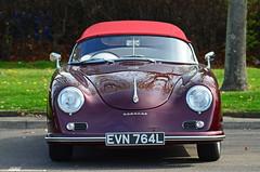 Porsche 356 Speedster Replica,EVN 764L (murraymcbey) Tags: porsche356speedsterreplica porsche 356 speedster replica evn764l convertible coupe