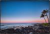 Happy Easter from Poipu, Kauai ! (drpeterrath) Tags: seascape landscape sun sky clouds rocks beach water pacific ocean sunrise sunset color palm trees canon 5dsr eos poipu kauai hawaii