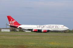 G-VROM BFS 21/04/19 (ethana23) Tags: planes aviation virgin atlantic boeing 747 747400