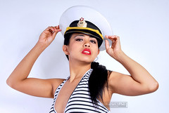 GC.: Ahoi (ralf_photograph1) Tags: asian schorts sexy sailor heels