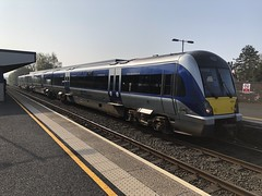4001 on the seriously delayed 09.00 departure for Derry (robinparkes) Tags: thinkingabouttrains translink northernirelandrailways