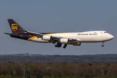 N608UP - Boeing 747-8F - United Parcel Service (UPS) (MikeSierraPhotography) Tags: 747 air airlines airport boeing cgn cgneddk cologne country deutschland flughafen flugzeug germany köln manufacturer plane spotting town unitedparcelserviceups