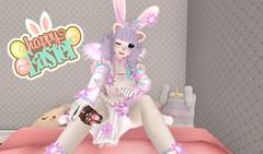 Happy Easter 2019 (SerenitySemple) Tags: secondlife sl furry fashion barerose junkfood newrelease razzberryinc colormecute pinki easter kawaii anime animehead mokyu maitreya