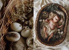 Oliver's first Easter (Yuliya Bahr) Tags: easter easterbunny eggs eastereggs rustic baby kids children basket sweet cute spring family flowers kinderfotografberlin kinderfotografieinberlin familienfotoberlin familienfotografberlin