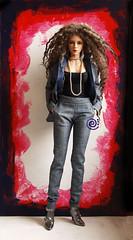 Raffine (♫ Belenojon ♫) Tags: iplehouse fid woman raffine ball jointed doll bjd fashion suit