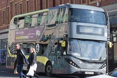BT 401 @ North Pier, Blackpool (ianjpoole) Tags: blackpool transport alexander dennis enviro 400 city sn16ova 401 working route 11 market street lytham square