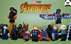 """Bring Me Thanos!"" [Infinity War - #10] (HaphazardPanda) Tags: lego figs fig figures figure minifigs minifig minifigures minifigure purist purists character characters comics comic book books story group super hero heroes superhero superheroes marvel mcu avengers infinity war endgame captain america iron man spiderman machine falcon vision scarlet witch white wolf winter soldier okeye black panther shuri nomad widow thor bruce banner hulk groot guardians galaxy rocket raccoon gamora nebula doctor strange starlord quill drax mantis wong gauntlet stones thanos stormbreaker"