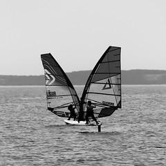 winsurf-7 (steed13) Tags: windsurf marignane jaï noiretblanc nb noirblanc blackwhite blackandwhite sport pwaworldcup