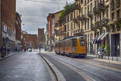 _EMA0028 (ema.mon) Tags: sanlorenzo portaticinese milano hdr hdrphotography italy tram strada street
