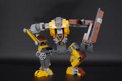 Dog_OSM_LEGO_21303_08 (oeuf_en_gelee) Tags: lego moc osm alternate robot halflife dog videogame valve