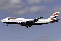 British Airways 747-400 G-CIVO at London Heathrow LHR/EGLL (dan89876) Tags: british airways boeing 747 queen skies b744 747400 gcivo london heathrow international airport 27l lhr egll