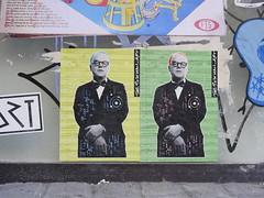 the postman art (Claudelondon) Tags: eastlondon london shoreitch streetart