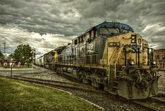 There is a place (builder24car) Tags: railfanning benchingthefreights sky clouds diamond csx csx79 sline sanfordnorthcarolina