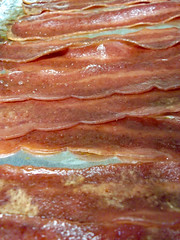 Bacon. (dccradio) Tags: lumberton nc northcarolina robesoncounty indoor indoors inside food eat snack meat bacon panofbacon greasy cooked cooking april easter eastersunday holiday spring springtime sunday sundayafternoon afternoon goodafternoon fuji finepix jv100