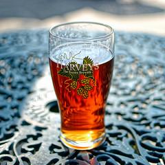 Nectar (Croydon Clicker) Tags: beer bitter ale best pint glass table pub harveys