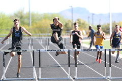 IMG_6389 (Az Skies Photography) Tags: southern arizona championship april 20 2019 april202019 southernarizonachampionship track meet field trackmeet trackfield trackandfield run runner runners running race racer racers racing athlete athletics high school highschool highschooltrack highschoolathletes athletes 42019 4202019 canon eos 80d canoneos80d eos80d canon80d sport sportsphotography action marana az maranaaz mountain view mountainview mountainviewhighschool southernarizonachampionshipstrackmeet mens 300m hurdles mens300mhurdles 300mhurdles