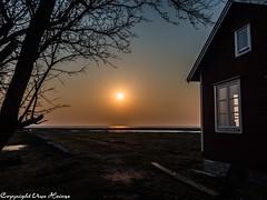 Sonnenuntergang Ottenby Öland 042019 01 (U. Heinze) Tags: öland schweden sverige sweden olympus penf 1240mm nature sonnenuntergang sky himmel