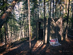 Illegal Shelter (Kevin Gagel) Tags: shelter illegal princegeorge prince george lcgunpark