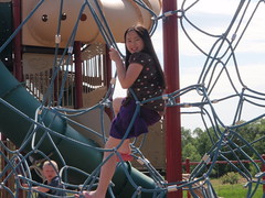 Ruth's Visit in June 2009 (Pictures by Ann) Tags: ruthsvisit ruth 2009 june2009 playground visitwithdan plymouth sophia