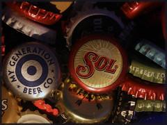 "A bottle of ""Bottle Tops"" - HMM (maf863) Tags: bottletop bottle tops hmm happy canon canon7dmk2 canonef28l100mmmacro canonef100mm28lmacro beer macro macromondays 7dmk2"