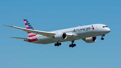 N821AN Boeing 787-9 American (SamCom) Tags: dfw kdfw n821an boeing 7879 american b789