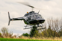 helicopter easter egg drop (Steve Brezger Photography) Tags: bell206 events aircraft easter egg helicopter holiday kids outdoor