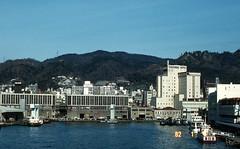 Port of Kobe 1982 (adelaidefire) Tags: kobe japan harbour towerside hotel port