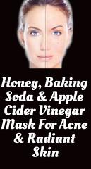 Honey, Baking Soda & Apple Cider Vinegar Mask For Acne & Radiant Skin (healthylife2) Tags: honey bakingsodaapplecidervinegarmaskforacneradiantskin