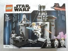 75229 - box (fdsm0376) Tags: lego set review 75229 death star escape wars leia princess organa luke skywalker stormtrooper mouse droid