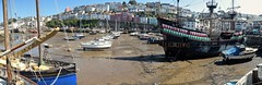 Brixham Harbour & The Golden Hind. (Drive-By Photography) Tags: torbay brixham harbour devon goldenhind