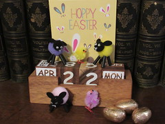 Easter Monday, 22nd, Hoppy Easter IMG_5944 (tomylees) Tags: lambs chick eggs calendar perpetual essex morning spring eastermonday april 2019 22nd