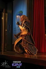 ComicdomCon Athens 2019 Cosplay Contest: Ailiroy as Jaina Proudmoore from World of Warcraft (SpirosK photography) Tags: comicdomcon comicdomcon2019 comicdomconathens2019 cosplay contest comicdom athens greece hau cosplaycontest worldofwarcraft wow game videogamecharacter videogame jaina jainaproudmoore warbringers