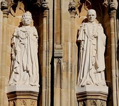 Canterbury Cathedral (timothyhart) Tags: canterbury cathedral kent uk england archbishop churchofengland historic heritage architecture english hmqueenelizabethii dukeofedinburgh queen elizabeth 2nd statue likeness