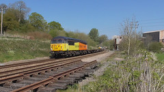 56049 Robin Templecombe 1938-2013 (66760 David Gordon Harris) Tags: colas class56 56049 6c20 maindee basfordhall
