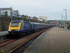 43063 Penzance (Marky7890) Tags: gwr 43063 class43 hst 1c84 penzance railway cornwall cornishmainline train