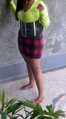 Extreme wide belt SDC13786 (ikat.bali) Tags: skirt amateur leather leder lady woman wide belt gürtel girl fashion fetish frau fotomodell sexy ceinture cintura cinturón ремень 带 ベルト 벨트 เข็มขัด बेल्ट thắtlưng photomodel