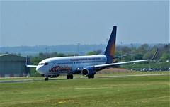 DSC03913 (richellis1978) Tags: ema east midlands airport airliner aeropark airplane aeroplane boeing 737 jet2 jet 2 gjzhf 737800 8k2