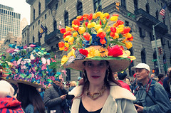 (NilsPix) Tags: easterparade nyc newyorkcity hat people colors colorful easter manhattan spring