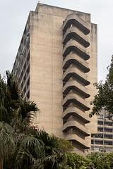 (ilConte) Tags: akbarbhavan newdelhi delhi india indian brutalism brutalismo architettura architecture architektur scale stairs treppe