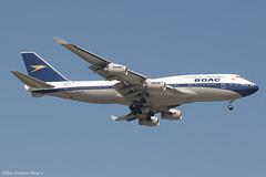 G-BYGC (Baz Aviation Photo's) Tags: gbygc boeing 747436 british airways baw ba boac retro livery heathrow egll lhr ba48